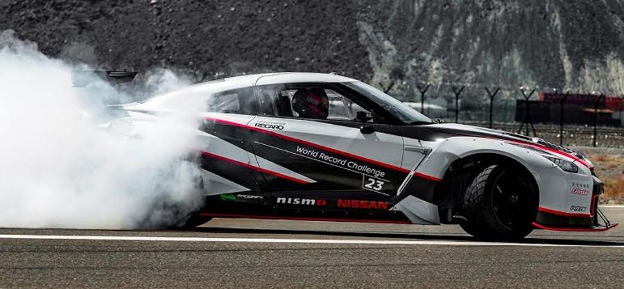 Photo of Impone Nissan GT-R un nuevo Récord Mundial Guinness por realizar el drifting más rápido