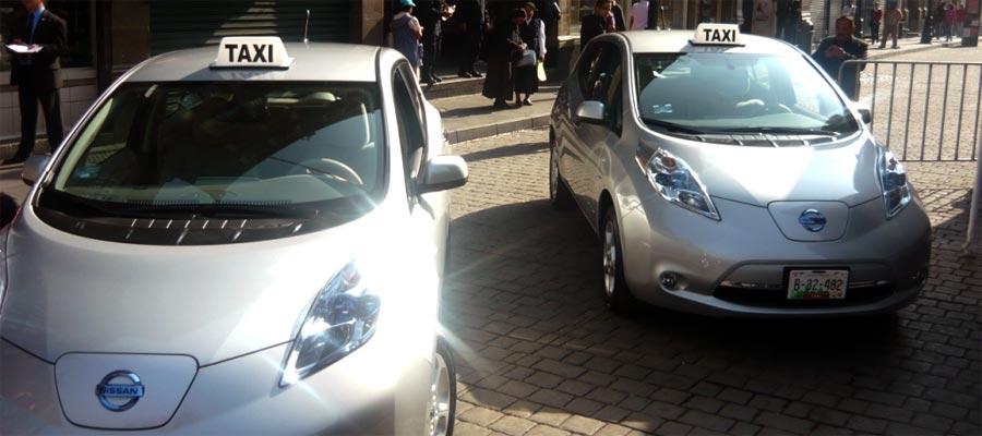 Photo of Entrega Nissan Mexicana los primeros Nissan LEAF  a la ciudad de México