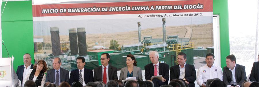 Photo of Inauguran el Ayuntamiento de Aguascalientes, ENER-G y Nissan generación de energía eléctrica limpia a partir de biogás en el relleno sanitario San Nicolás