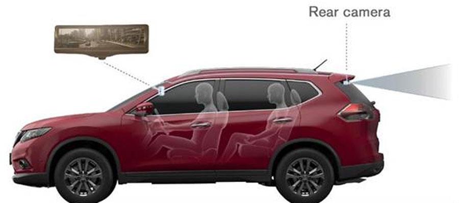 Photo of Presentó Nissan el «Espejo Retrovisor Inteligente» en el Auto Show de Nueva York
