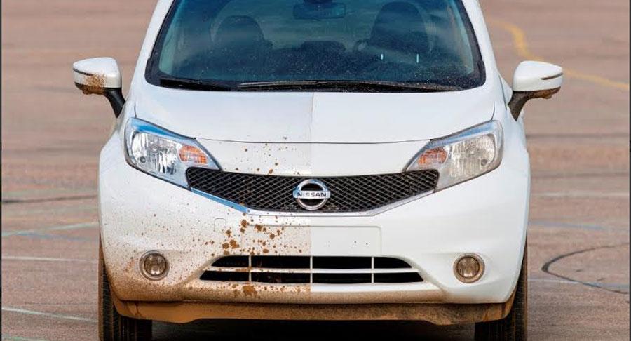 Photo of Desarrolla Nissan el primer prototipo de vehículo que se limpia solo