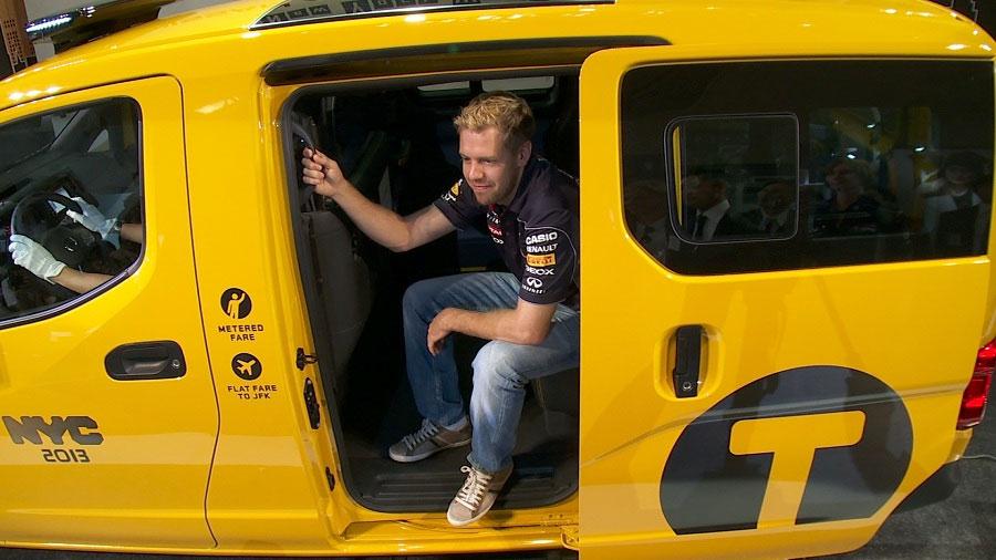 Photo of Presentan Nissan y Sebastian Vettel en Tokio el Taxi de Nueva York