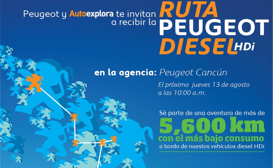 Photo of Recorre PEUGEOT, toda la República Mexicana con el 301 HDi y Partner Tepee Outdoor HDi