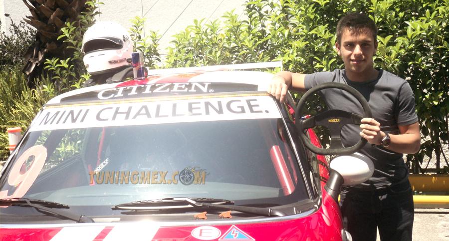 Photo of Ahora el mundo del automovilismo está lleno de adrenalina joven: Hugo Becerra Monterrey