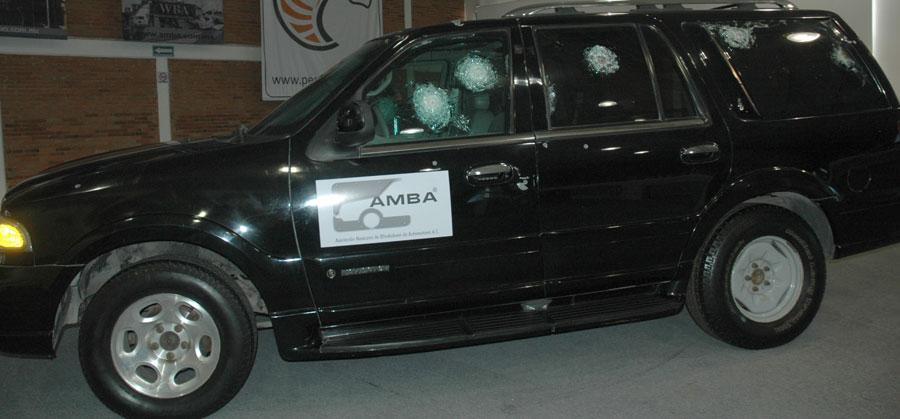 Photo of Por primera vez empresas importantes de blindaje, muestran a medios de comunicación las unidades blindadas en acción
