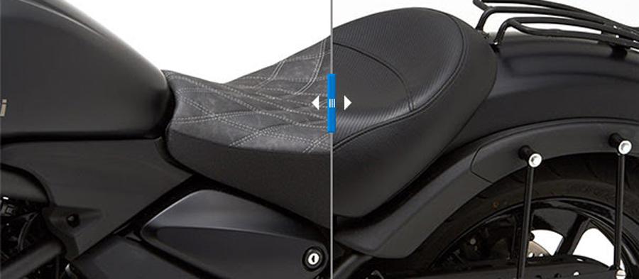 Photo of Clásica silla de Kawasaki Vulcan S 2015-2016