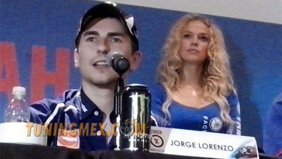 """Photo of """"Yamaha Tour"""",  Jorge Lorenzo en México"""